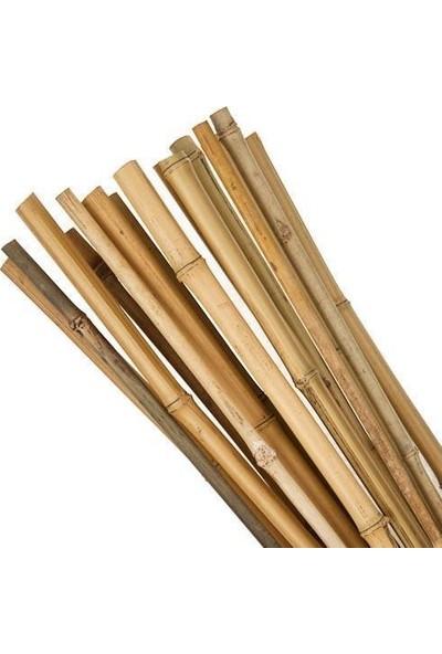 Nettenevime Bambu Sopası 120 cm 18-20MM Bambu Çubuğu 5 Adet