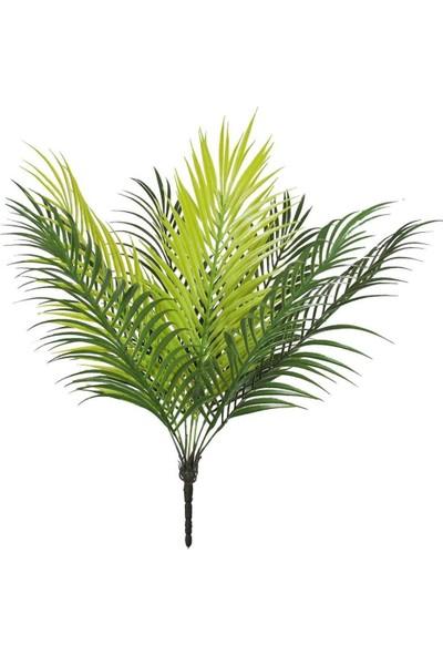 Nettenevime Yapay Çiçek Palmiye Yaprağı Yapay Yaprak 9 Dallı Demet Yapay Areka Yaprağı