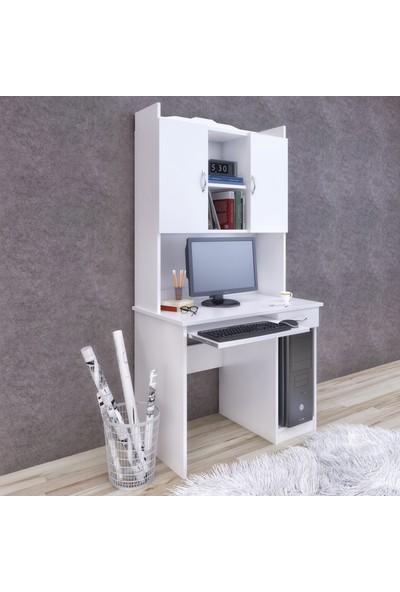Fora Home Nidia Kitaplıklı Çalışma Masası Bilgisayar Masası
