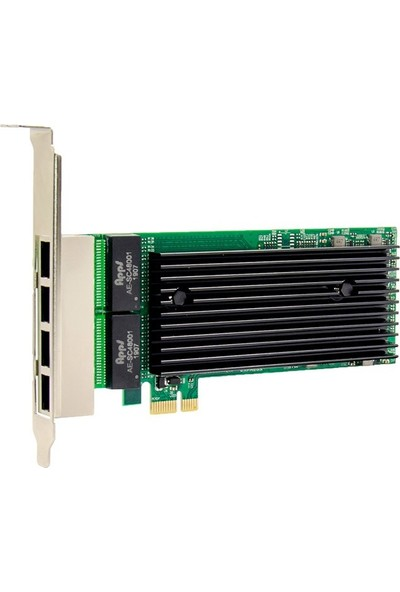 Ars PCI-E 4 port Gigabit ethernet ağ kartı 10/100/1000 Intel 82576EB