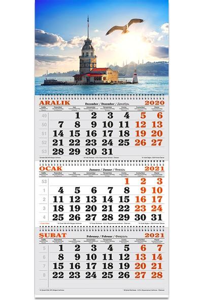 Keskin Color Spiralli Denizci Takvimi Kız Kulesi 2021