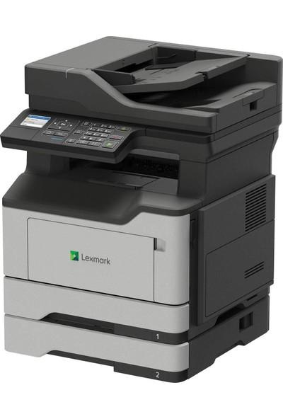 Lexmark Fotokopi Faks Tarama Dubleks Network Çok Fonksiyonlu Siyah Beyaz Lazer Yazıcı MX321ADN