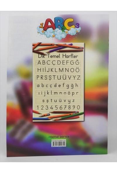 Defne A4 Karton Kapak Standart Yazı Defteri 32 Yaprak