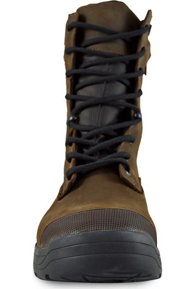 Oks Footwear Astro RNK1020 Özel Seri Kahve Askeri Bot