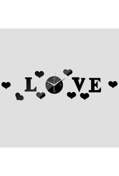 Tsd Dekorasyon Duvar Saati Aşk