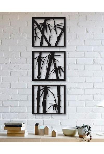 Tsd Dekorasyon 3D Mdf Tablo Bambu
