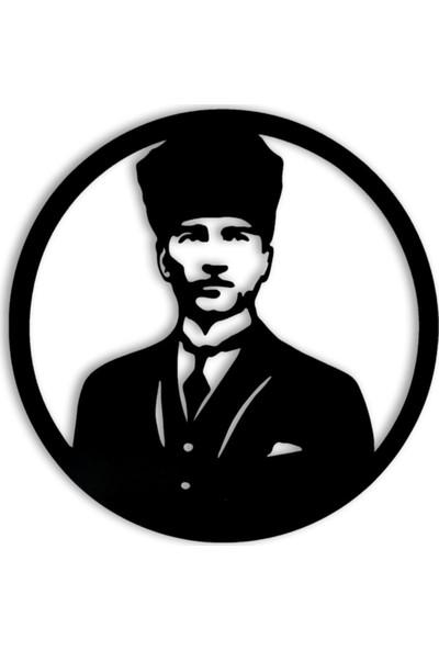 Tsd Dekroasyon 3D Mdf Atatürk Tablosu