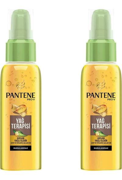 Pantene Argan Yağı Elixir Oil Yağ Terapisi 100 ml x 2