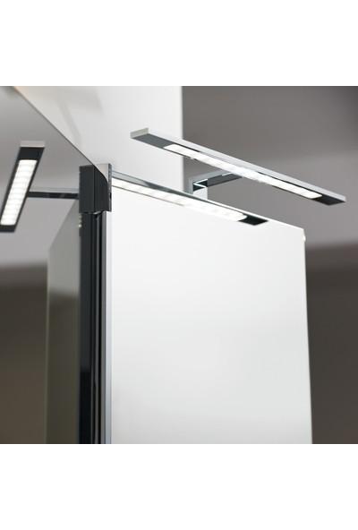 Hightek 7W Kuğu Aplik 21 Ledli Ayna Üstü Oynar Başlıklı