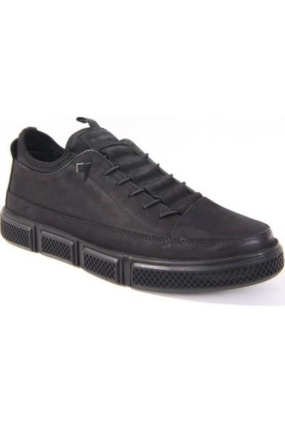 Hammer Jack 10220650 Siyah Günlük Erkek Ayakkabı