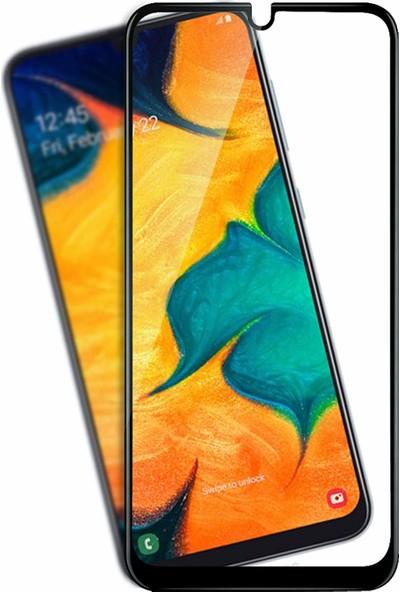 Linkage Samsung Galaxy A50S Kavisli Tam Kaplayan 9d 12D Ekran Koruyucu