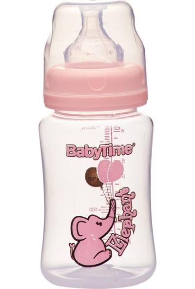 Baby Time BT075 Geniş Ağız Pp Biberon 250 ml - Pembe