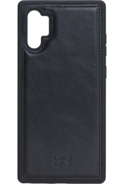 Bouletta Samsung Galaxy Note 10 Plus Rst1 Siyah FXC Deri Telefon Kılıfı