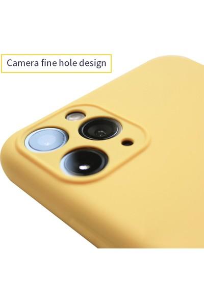 Fibaks Apple iPhone 11 Kılıf 3D Kamera Korumalı İçi Kadife Lansman Yumuşak Silikon