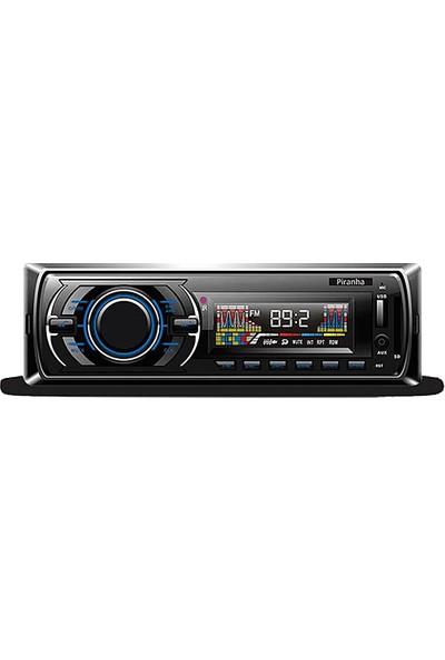 Piranha 7735 Radyo Bluetooth + Usb/sd Kart Mp3 Çalar Teyp
