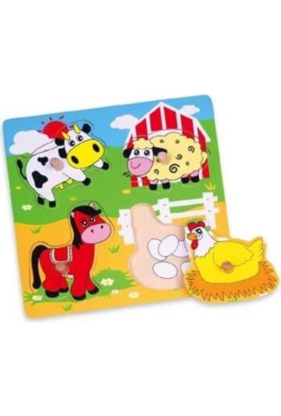 Vigatoys Çiftlik Hayvanları Puzzle 22 x 22 cm