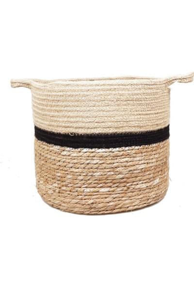 Linanca 3'lü Hasır Çamaşır Sepeti