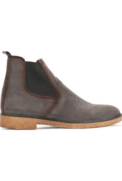 Ayakland 5100 Süet Termo Taban Erkek Bot Ayakkabı