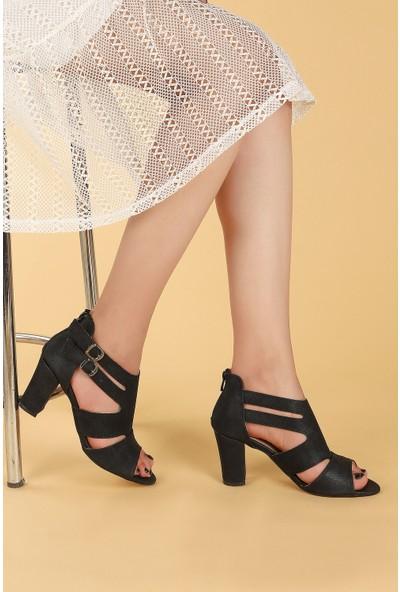 Ayakland 811-51 27 Çupra 7 cm Topuklu Kadın Sandalet