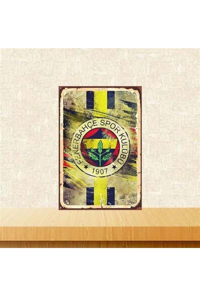 Selens Fenerbahçe 20 x 30 cm Retro Ahşap Poster