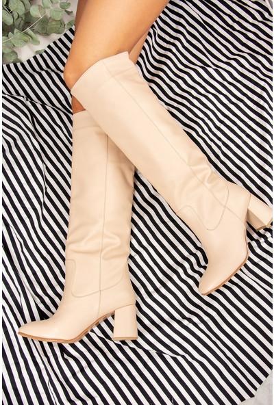 Fox Shoes Ten Kadın Çizme J749198309