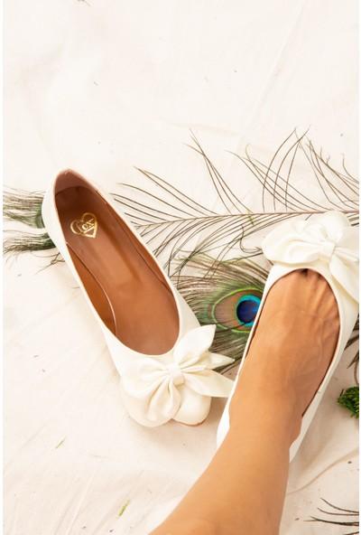 Fox Shoes Ten Kadın Babet H726810504