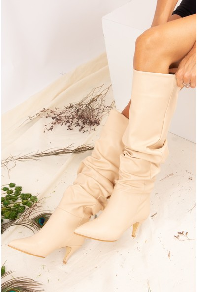 Fox Shoes Ten Kadın Çizme J749129909