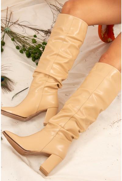 Fox Shoes Ten Kadın Çizme J838339009