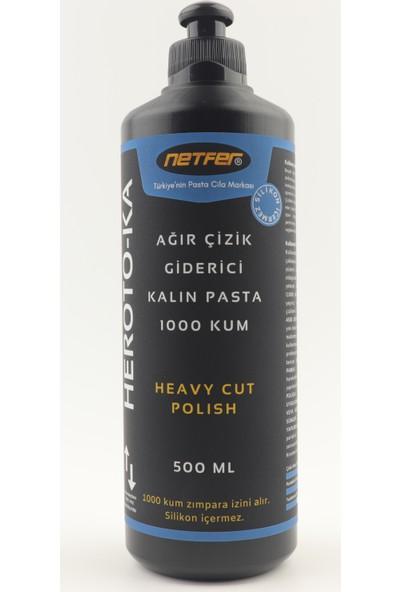 Netfer Heroto-KA Kalın Çizik Giderici Pasta - 500 ml