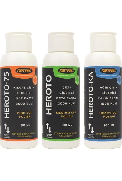 Netfer 3'lü Pasta Set - 3x100 ml
