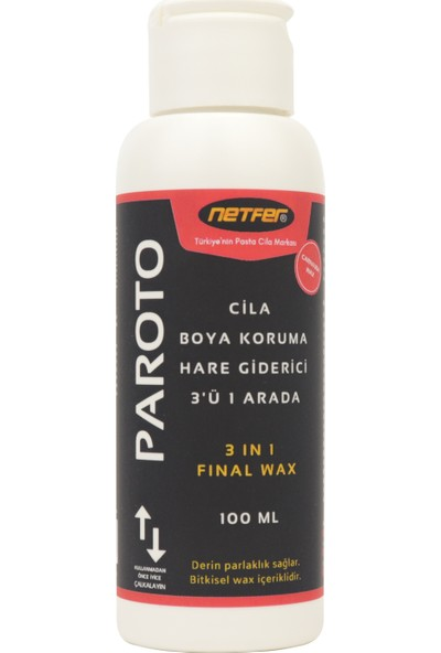 Netfer 4'lü Pasta Cila Set - 4x100 ml