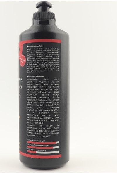 Netfer 2'li Kalın Pasta Cila Set - 2x500 ml
