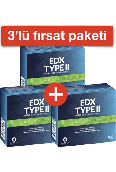 EDX TYPE II KOLLAJEN (3'LÜ PAKET)