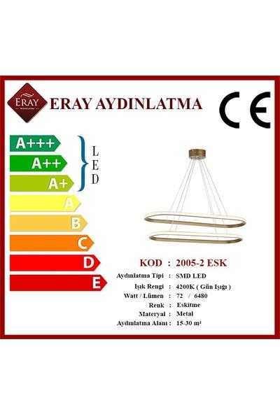 Eray Aydınlatma 2005-2 Eskitme Elips LED Avize