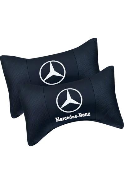 Manken İstanbul Mercedes Seyahat Boyun Yastığı ve Kemer Pedi Takımı