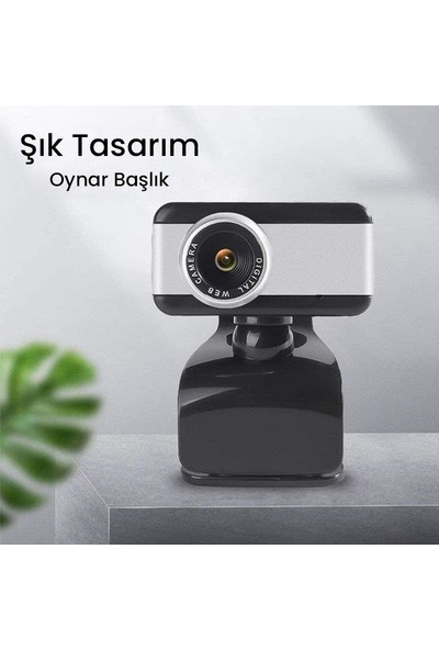 Powermaster PM-3984 1080P Mikrofonlu USB Webcam