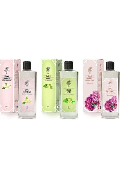 Rebul Women Special Set Jasmine-Bouquet-Lime 270 ml
