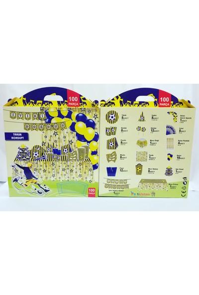 Iyiki Doğdun Fenerbahçe Konsept 8 Kişilik Set 100 Adet