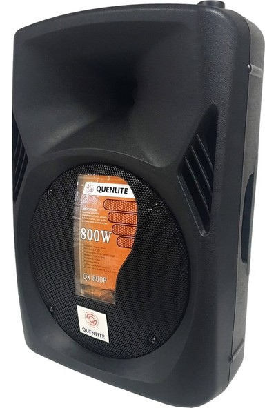 Quenlite Active Mix Set-1 Aktif Hoparlör ve Mixer Mikrofon Paketi 800 Watt