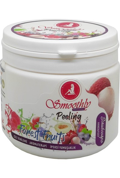 Smoothly El & Ayak Kremi - Peeling Karışık Meyveli