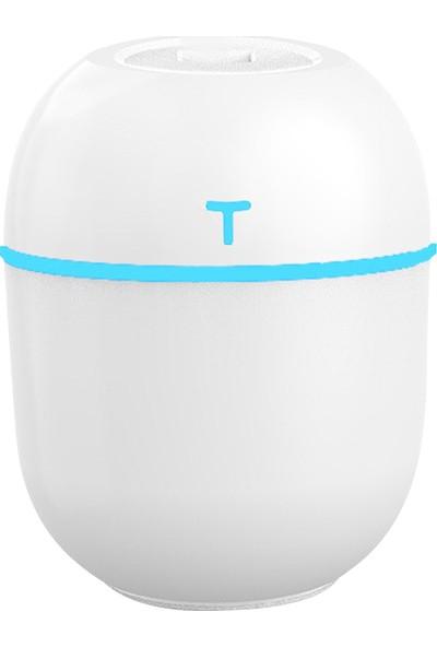 Buyfun 220 ml Mist Nemlendirici Difüzör LED Renkli Sessiz (Yurt Dışından)