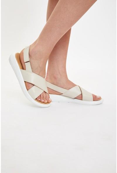 DeFacto Yüksek Taban Sandalet R0119AZ20HS