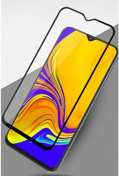CoverZone Samsung Galaxy M51 5D Kırılmaya Dayanıklı Cam Ekran Koruyucu Siyah