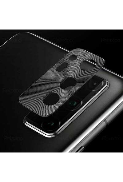CoverZone Samsung Galaxy S20 Plus Kamera Koruyucu Siyah