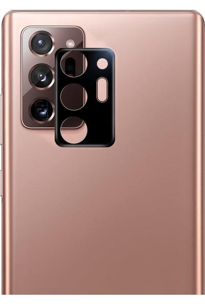 CoverZone Samsung Galaxy Note 20 Ultra Kamera Koruyucu Siyah