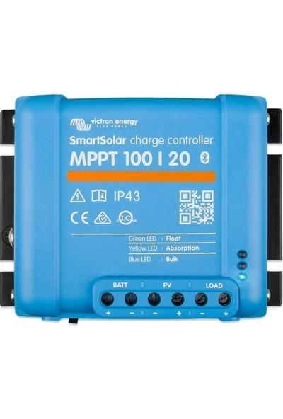 Victron Smartsolar 100/20 Mppt Solar Şarj Cihazı ( Dahili Bluetooth )