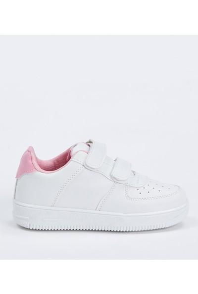 Defacto Kız Çocuk Cırtcırtlı Ayakkabı
