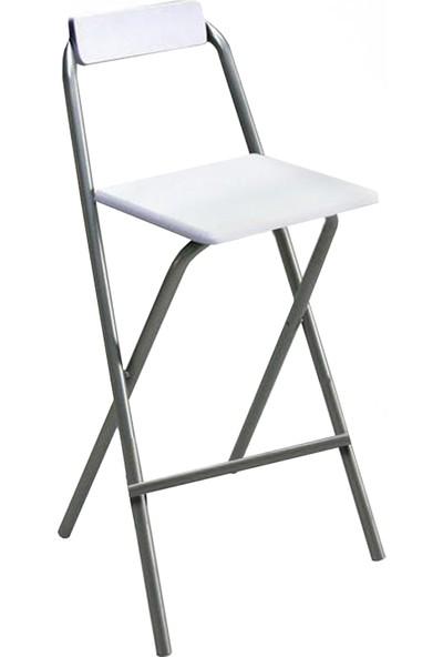 Weblonya Katlanır Sandalye Bar Taburesi Katlanır Koltuk 5052