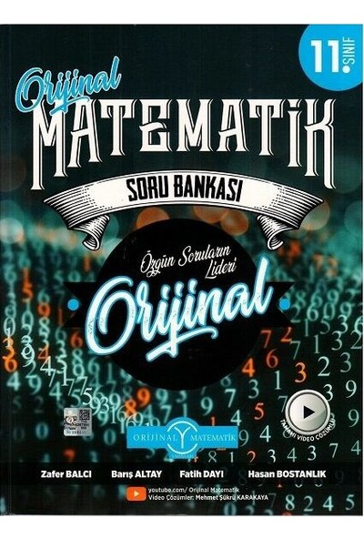 Orijinal Yayınları 11. Sınıf Matematik Soru Bankası