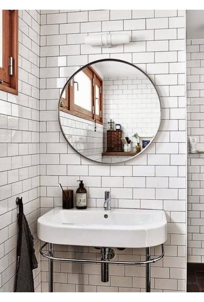 Specchio Nehir Yuvarlak Ayna